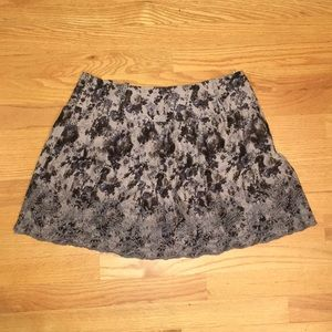 NWT wet seal floral mini skirt